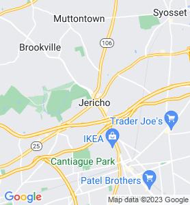 Jericho NY Map