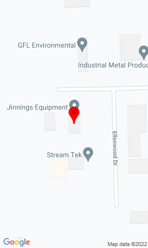 Google Map of Jinnings Equipment LLC  4434 Allen Martin Drive  , Fort Wayne, IN, 46806,
