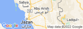Abu `arish map