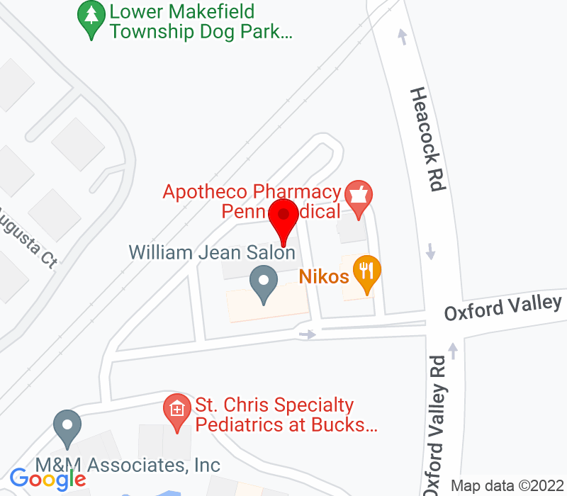 Click to view Google maps office address John F Ortolf, 385 Oxford Valley Road, Suite 320, Yardley, PA 19067