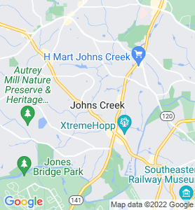 Johns Creek GA Map