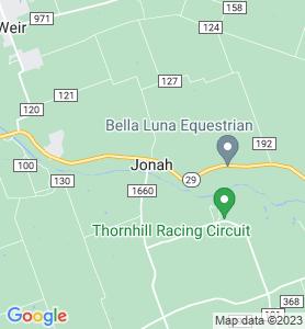Jonah TX Map