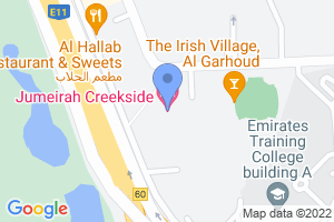 Jumeirah Creekside Hotel, Dubai, United Arab Emirates