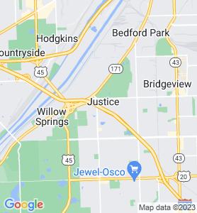 Justice IL Map