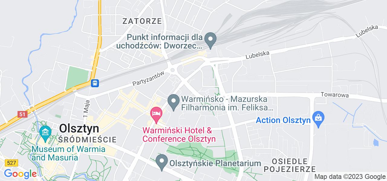 Osiedle Kętrzyńskiego w Olsztynie – w tych punktach ekspresowo wyślesz turbinę do autoryzowanego serwisu