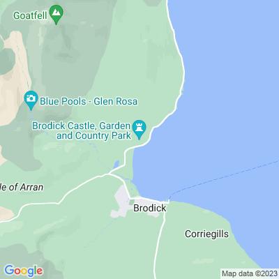 Brodick Castle Location