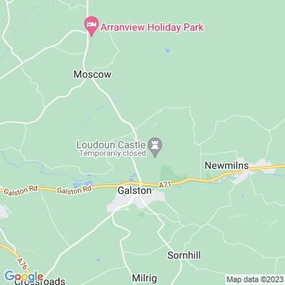 Loudoun Castle Location