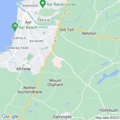 Ailsa Hospital Location