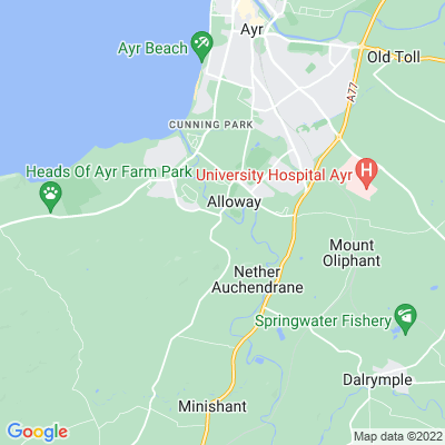 Bridgend Castle Location