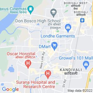 Google Map of KALPAVRUKSH GARDEN, NEW LINK ROAD,MAHAVIR NAGAR, KANDIVALI WEST, MUMBAI-400067