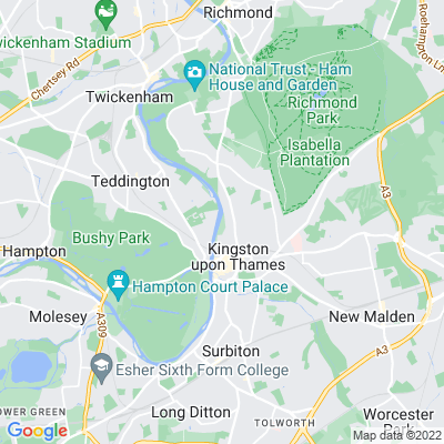 Canbury Gardens Location