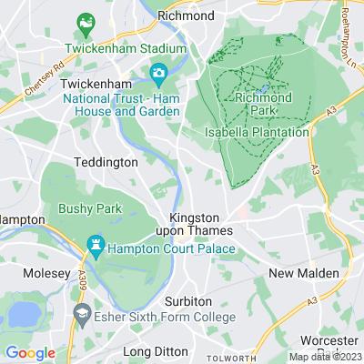 Thames Path (Kingston) Location