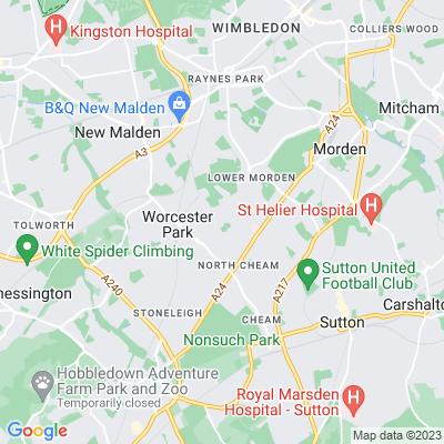 Dorchester Road Recreation Ground Location