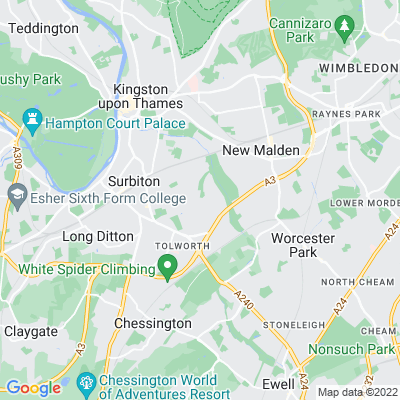 Berrylands Park Location