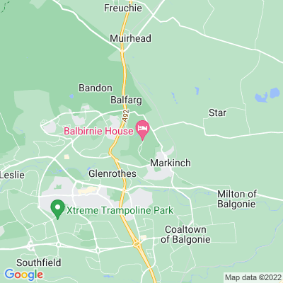 Balbirnie Location