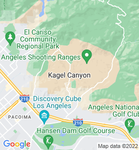 Kagel Canyon CA Map