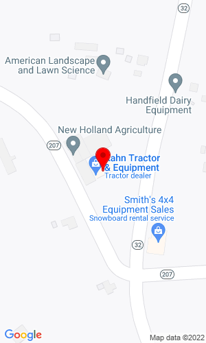 Google Map of Kahn Tractor & Equipment, Inc. 520 Pond Road, North Franklin, CT, 06254