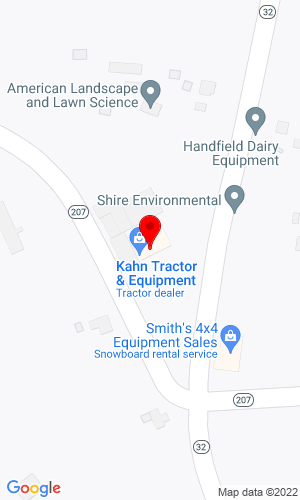 Google Map of Kahn Tractor & Equipment, Inc. 520 Pond Road, North Franklin, CT, 06254,