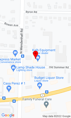 Google Map of Kalb Equipment Company 4900 Old Summer Road, Memphis, TN, 38122