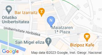 Haritza liburu denda mapa