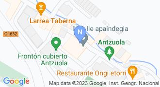 Helburu zure hezkuntza akademia  mapa