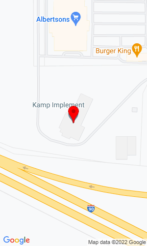 Google Map of Kamp Implement Co 6855 Jackrabbit Lane, Belgrade, MT, 59714-0629