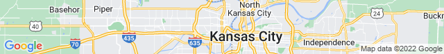 Map of KS