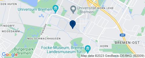 Google Map of Karl-Ferdinand-Braun-Straße 7, 28359 Bremen