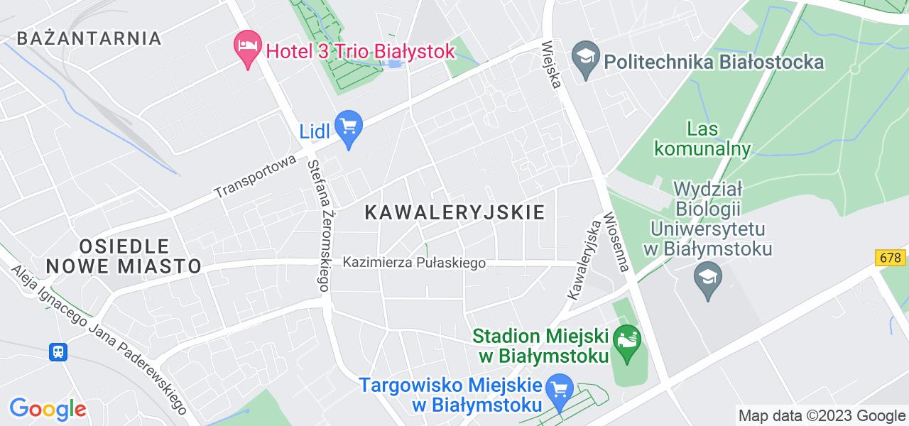 Osiedle Kawaleryjskie w Białymstoku – w tych punktach ekspresowo wyślesz turbinę do autoryzowanego serwisu
