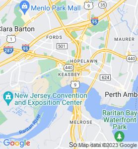 Keasbey NJ Map
