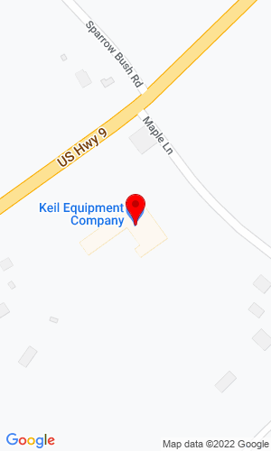 Google Map of Keil Equipment Co Inc 2356 RT 9, Hudson, NY, 12534