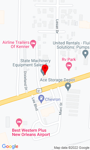 Google Map of Kel-Kat Land LLC 160 West Airline Hwy, Kenner, LA, 70062