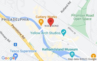 Map of Glow Yoga Studio