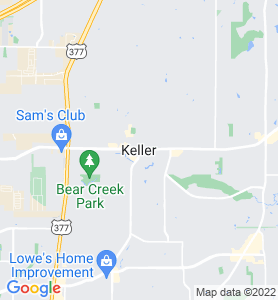 Keller TX Map