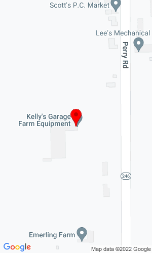 Google Map of Kelly's Garage 2868 State Route 246, Perry, NY, 14530