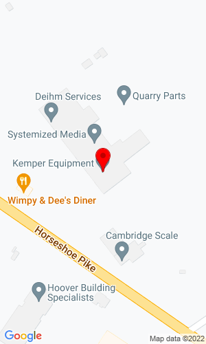 Google Map of Kemper Equipment, Inc 5051 Horseshoe Pike, Honey Brook, PA, 19344