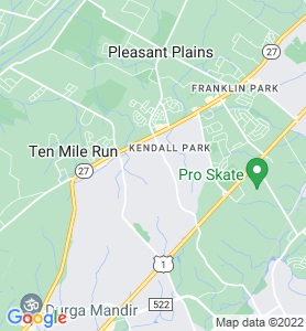 Kendall Park NJ Map