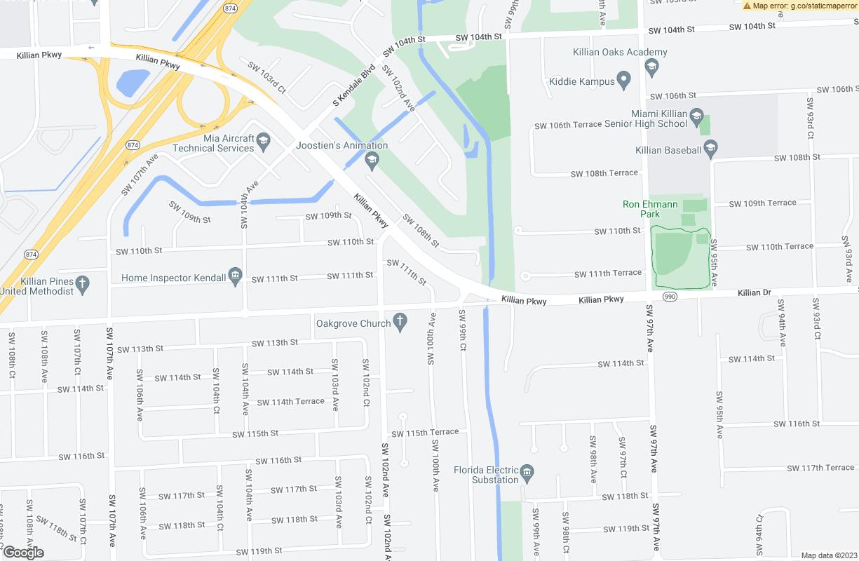SW 112th Street Kendall FL 33186