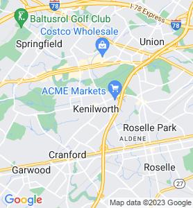 Kenilworth NJ Map