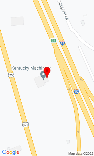 Google Map of Kentucky Machinery Co., LLC 3277 Lexington Road, Richmond, KY, 40475