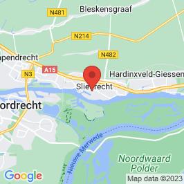 Google map of GEB-kantoor met schakelruimte, Sliedrecht