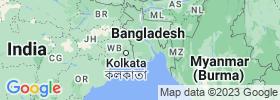 Khulna map