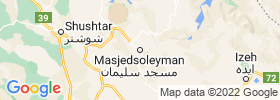 Masjed Soleyman map