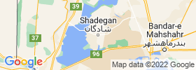 Shadegan map