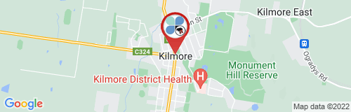 Kilmore google map