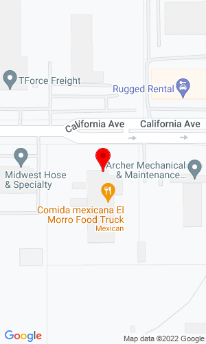 Google Map of Kimball Equipment Company 2839 W California Avenue, Salt Lake City, UT, 84104