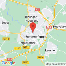 Google map of Rohm & Haas, Amersfoort