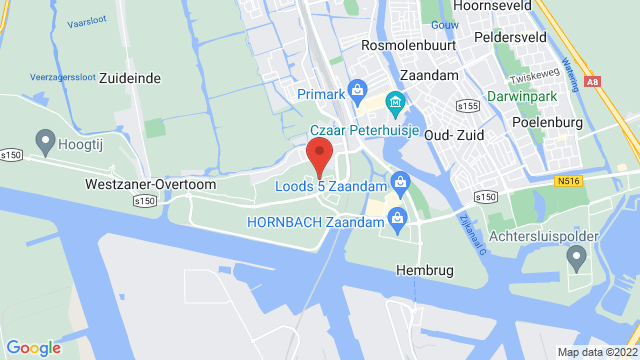 Zaandam+Mitsubishi op Google Maps