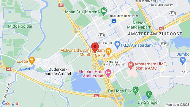 Van+Mossel+Peugeot+Amsterdam+Zuidoost op Google Maps