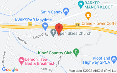 Map of Kloof Medical Centre